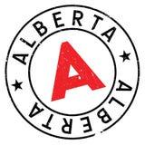 Grunge del caucho del sello de Alberta Fotos de archivo libres de regalías