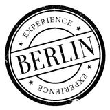 Grunge del caucho del sello de Berlín Fotos de archivo libres de regalías