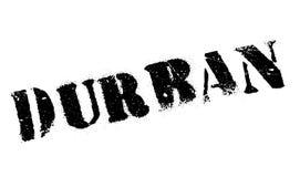 Grunge del caucho del sello de Durban Fotografía de archivo