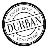 Grunge del caucho del sello de Durban Fotos de archivo libres de regalías
