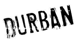 Grunge del caucho del sello de Durban Fotografía de archivo libre de regalías