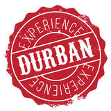Grunge del caucho del sello de Durban Imagen de archivo libre de regalías
