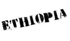 Grunge del caucho del sello de Etiopía Fotografía de archivo libre de regalías