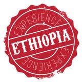 Grunge del caucho del sello de Etiopía Foto de archivo libre de regalías
