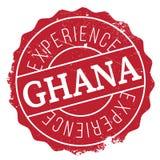 Grunge del caucho del sello de Ghana Imagen de archivo libre de regalías