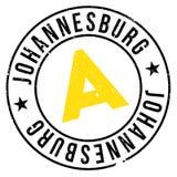 Grunge del caucho del sello de Johannesburgo Imagenes de archivo