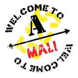 Grunge del caucho del sello de Malí Fotos de archivo libres de regalías