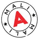 Grunge del caucho del sello de Malí Imagenes de archivo