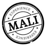 Grunge del caucho del sello de Malí Fotos de archivo
