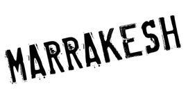 Grunge del caucho del sello de Marrakesh Imagenes de archivo