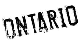 Grunge del caucho del sello de Ontario Imagen de archivo libre de regalías
