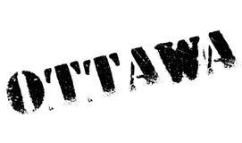 Grunge del caucho del sello de Ottawa Imagenes de archivo