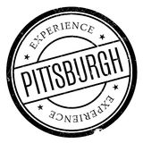 Grunge del caucho del sello de Pittsburgh Fotos de archivo libres de regalías
