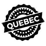 Grunge del caucho del sello de Quebec Fotos de archivo