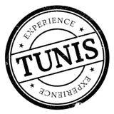 Grunge del caucho del sello de Túnez Imágenes de archivo libres de regalías