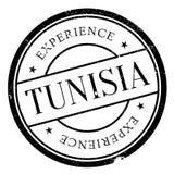 Grunge del caucho del sello de Túnez Fotos de archivo libres de regalías