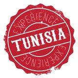 Grunge del caucho del sello de Túnez Foto de archivo