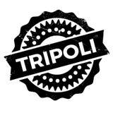 Grunge del caucho del sello de Trípoli Fotografía de archivo libre de regalías