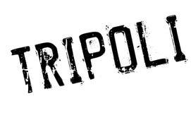 Grunge del caucho del sello de Trípoli Foto de archivo libre de regalías