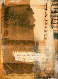Grunge del collage Imagen de archivo