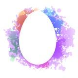 Grunge del huevo de Pascua Fotografía de archivo libre de regalías