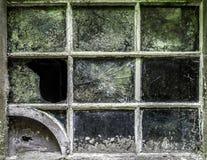 Grunge del marco de ventana Imagen de archivo libre de regalías