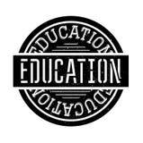 Grunge del sello de goma de la educación Fotos de archivo