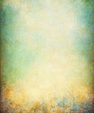Grunge del verde amarillo Imagen de archivo