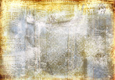 Grunge denim faded background Royalty Free Stock Photos