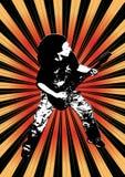 Grunge design Stock Images