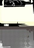 Grunge design background 5/5. Illustration of grunge design background Stock Images