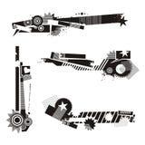 Grunge Design Elements Stock Photos