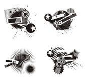 Grunge Design Elements Stock Photo