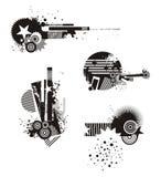 Grunge Design Elements Royalty Free Stock Photos