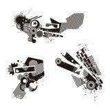 Grunge Design Elements Stock Images
