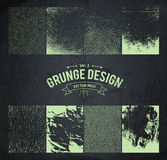 Grunge Design Elements Set 3 Royalty Free Stock Photography