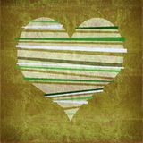 Grunge design heart Stock Photos