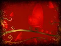 Grunge design for valentines Stock Photo
