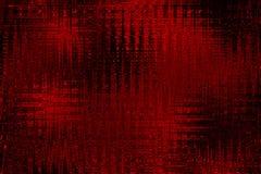 Grunge detailleerde hoogst abstracte geweven rode tintenachtergrond Royalty-vrije Stock Afbeelding