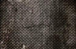 Grunge Diamantmetall Stockbilder
