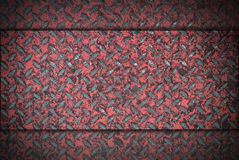 Grunge diamond metal background Royalty Free Stock Images