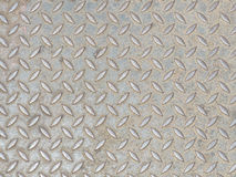 Grunge Diamond Steel Plate Background Texture Stock Photography
