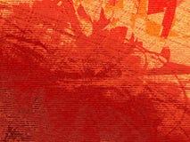 Grunge digital vermelho Fotografia de Stock