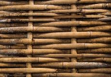 Grunge dirty bamboo pathway Royalty Free Stock Image