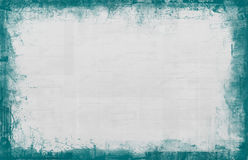 Grunge dirty border. Textured page template with a rough border Stock Photography