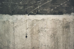 Grunge dirty exterior concrete wall surface Stock Photography