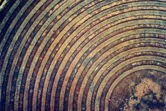 Grunge and dirty metal grain texture with rusty Stock Photography