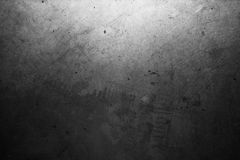 Grunge dirty old dark cement wall Stock Photography
