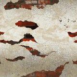Grunge dirty plastered bricks wall. Grunge dirty plastered orange bricks wall vector illustration