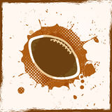 Grunge Dirty Rugby. Abstract Background Royalty Free Stock Photos